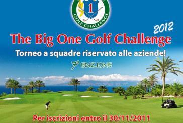 The Big One Golf Challenge  2012: un torneo a squadre per aziende