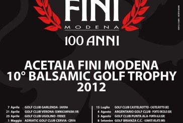 Balsamic Golf Trophy: prima tappa al Golf Club Garlenda