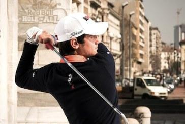 Red Bull Hole in All: giochi a golf meglio di Matteo Manassero?