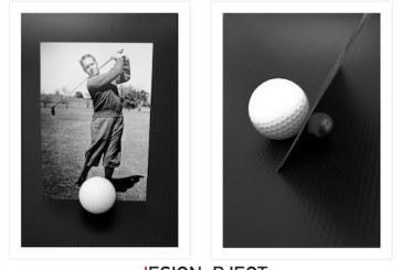 Il Golf incontra il Design: in un porta foto un concept d'effetto