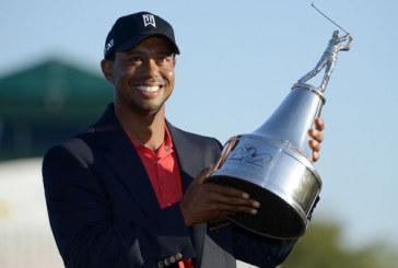 Memorial Tournament: Tiger Woods vola al secondo posto