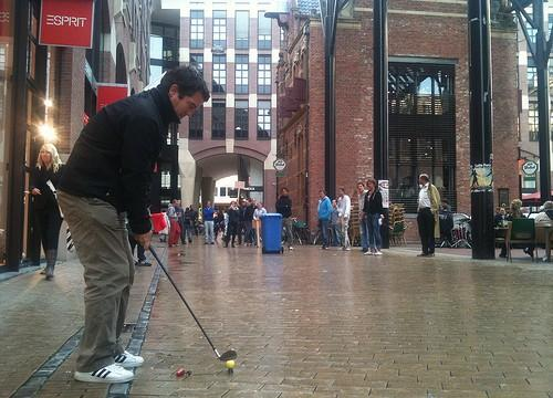 A Berlino spopola il Golf Urbano