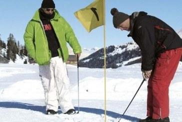 Golf con le ciaspole a Bardonecchia
