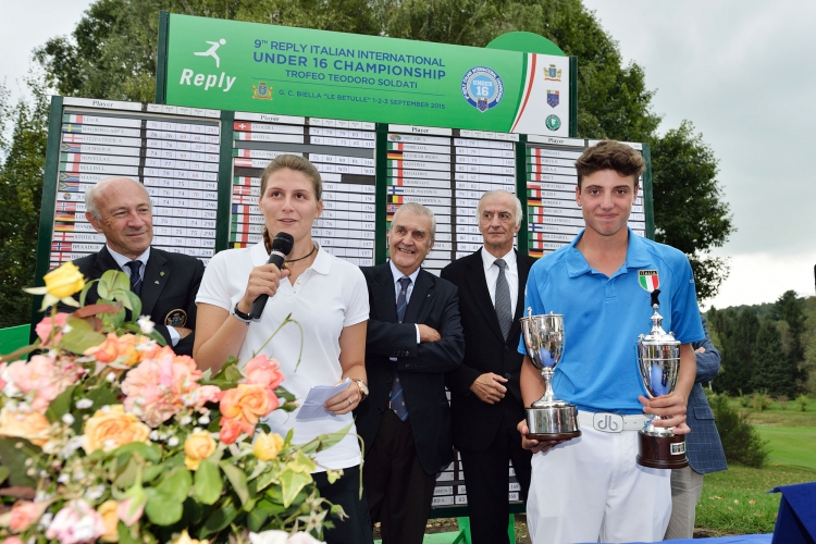 "E' sempre più italiano il ""Reply Italian International Under 16 Championship‏"""