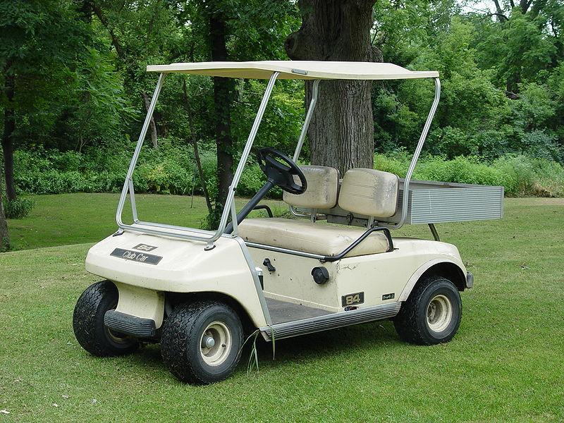 Ma come si usa un golf cart?
