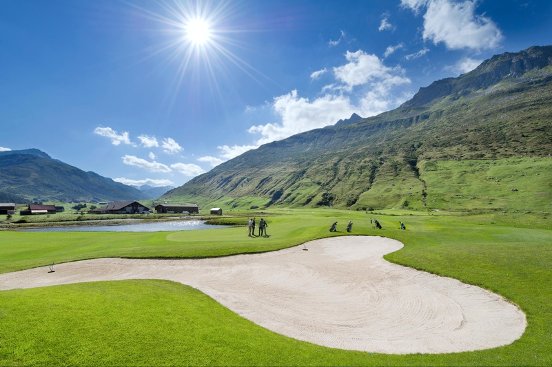 Golf Club Andermatt Swiss Alps