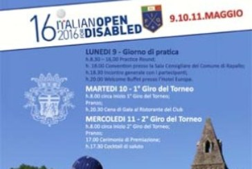 16° Italian Open for Disabled: il golf è di tutti