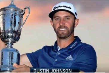 Il 1°U.S.Open di Dustin Johnson celebrato in 1 video