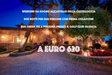 Prenota il tuo weekend al Castello della Castelluccia a soli 620 Euro per due persone