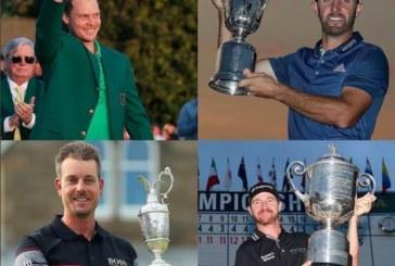 Quattro major quattro vincitori nuovi assoluti