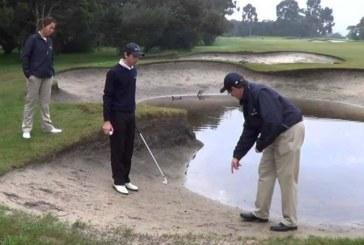Regole del Golf: che cosa fare di fronte a un ostacolo d'acqua?