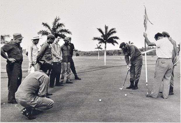Il mistero della partita di golf tra Che Guevara e Fidel Castro