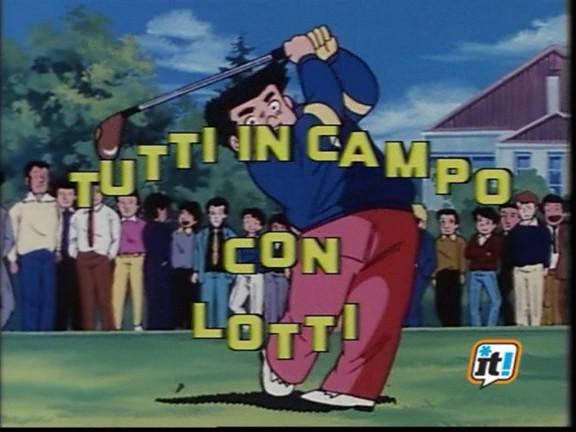 Tutti in campo con Lotti: trent'anni fa in Italia il primo anime sul golf