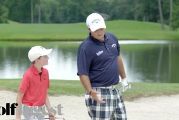Video: bambino prodigio batte Patrick Reed alla SHH Challenge