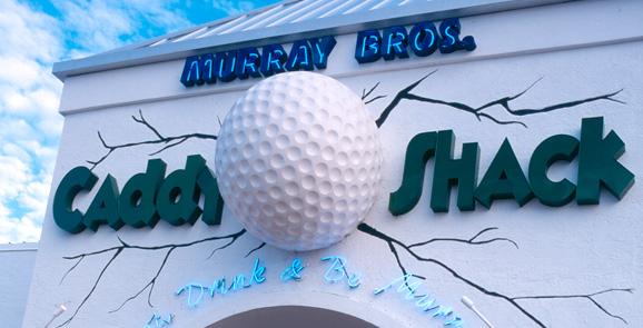 L'attore Bill Murray apre un ristorante dedicato al film Caddyshack
