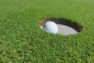 Golf: palla in movimento deviata o fermata