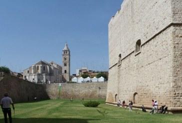 Il Castello Svevo diventa un campo da golf
