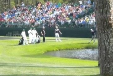 Palla in movimento nelle regole del golf