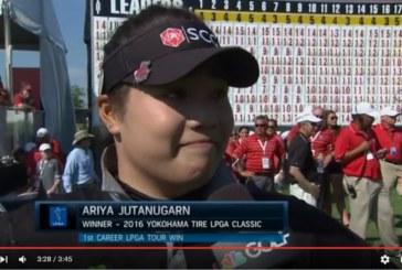 LPGA Tour – I colpi della vittoria di Ariya Jutanugarn [Video]