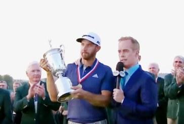 Dustin Johnson conquista lo U.S.Open