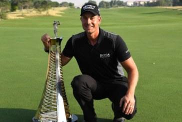 Henrik Stenson è campione d'Europa, bravissimo Molinari a Dubai