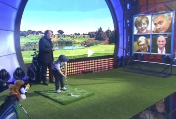 Video: baby golfista fenomenale al Little Big Show di Gerry Scotti