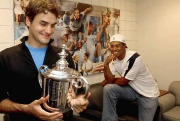 """Woods elogia lo spirito di Federer, suo """"rivale di Major"""""""
