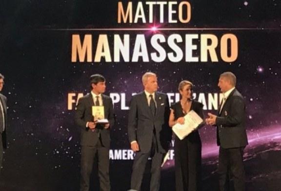 Il premio Fair Play a Manassero